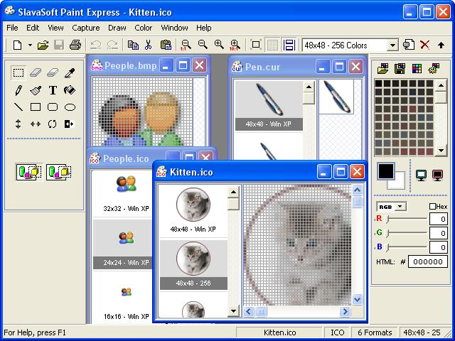 Click to view Paint Express 1.31 screenshot